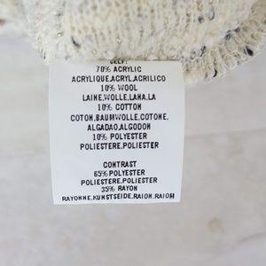 Anthropologie Sweaters - Deletta Anthropologie Puff Sleeve Sweater XL
